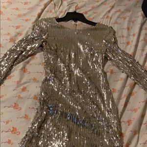 Size small sequin dress